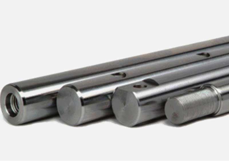 Gas-spring damper rods