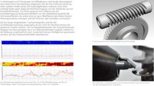 Streulichtmessung auf Schraubrad-Getriebeschnecken