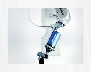 Streulichtmessung Robotereinsatz